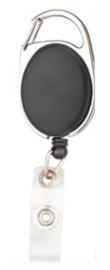 Badge jojo clip zwart mat