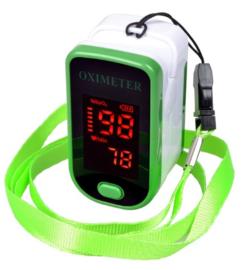 Saturatiemeter-oximeter groen