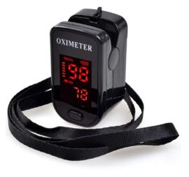 Saturatiemeter-oximeter zwart