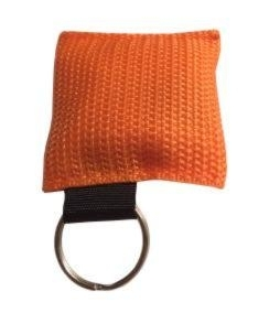 Reanimatie sleutelhanger oranje