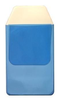 Borstzakbeschermer blauw