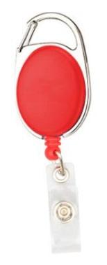 Badge jojo clip rood mat