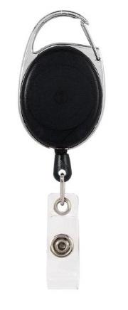 Badge jojo clip zwart transparant