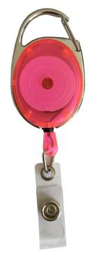 Badge jojo clip roze transparant