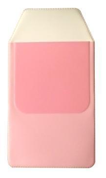 Borstzakbeschermer roze