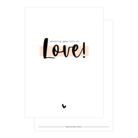 Kaart • Sending you lots of love!