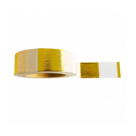 MASKING TAPE | GOLDFOIL/WHITE