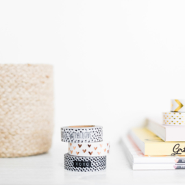 Masking tape • Packed with love // Eigen merk