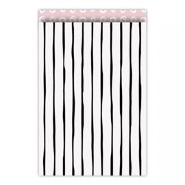 Zakjes lines • 17x25 (5 stuks)