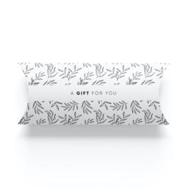 Geschenkverpakking • A gift for you