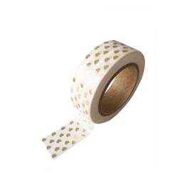 Masking tape • Goudfolie hartjes