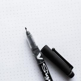 V-Sign pen • zwart