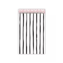 Zakjes lines • 12x19 (5 stuks)