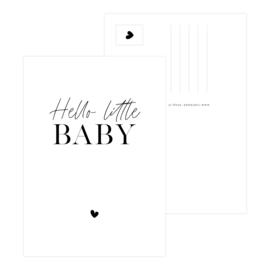 A6 Kaart • Hello little baby