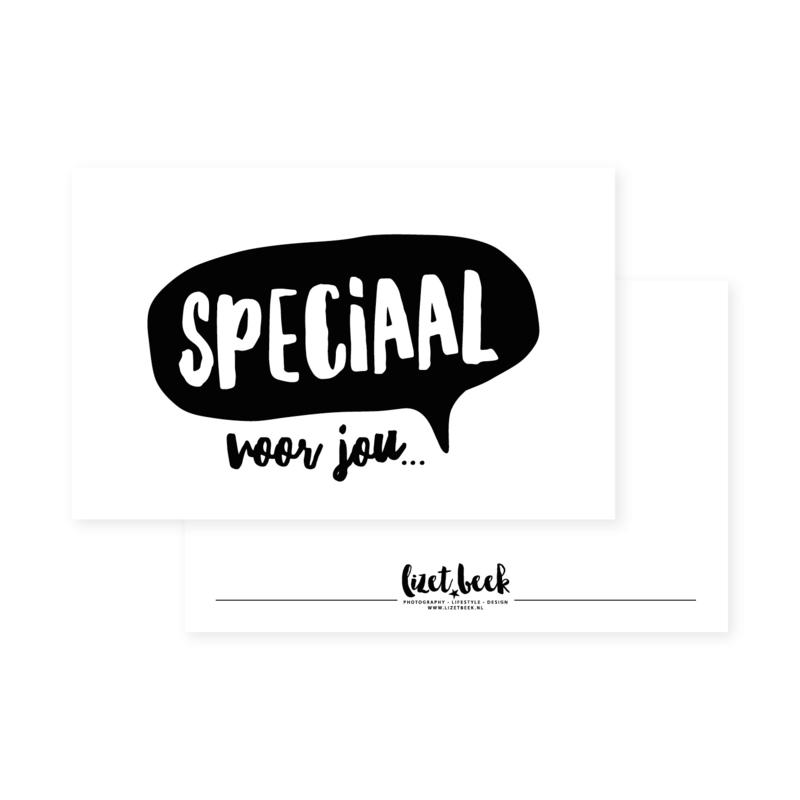 Minikaartje 85x55 • Speciaal voor jou