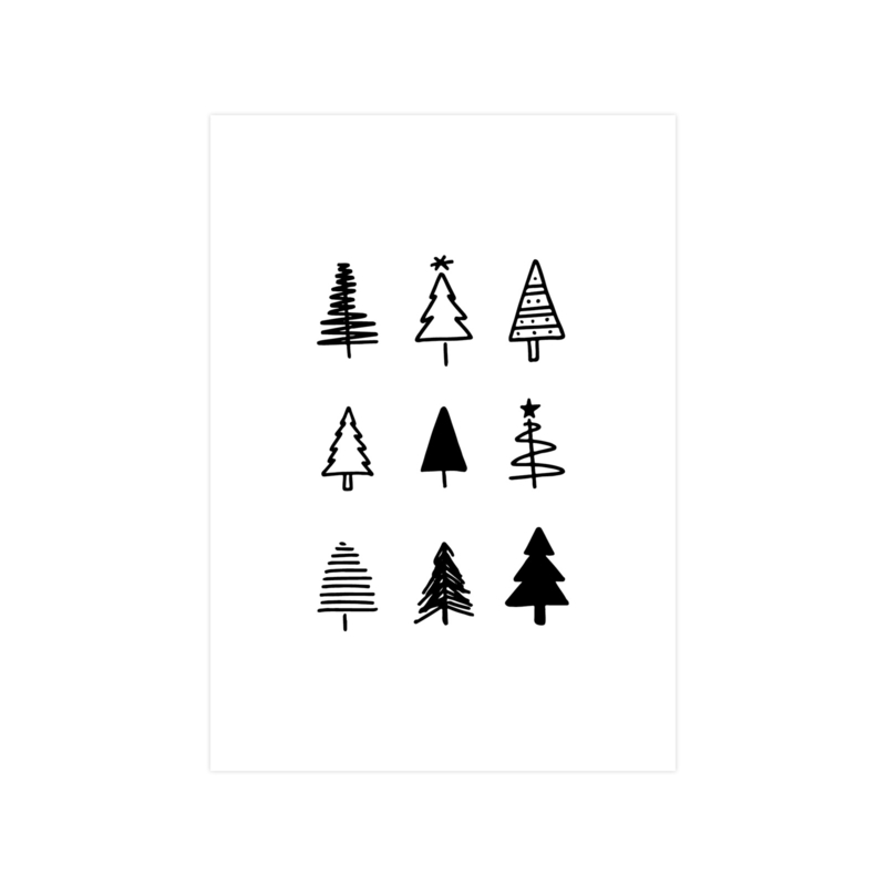Limited Edition • A4 kerstposter
