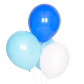Ballonnen Mix blauw