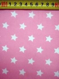 Roze met witte ster