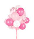 Ballonnen Confetti Pink