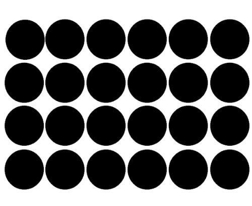 Stickervel dots