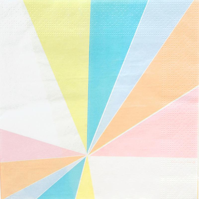 Papieren servetten My little day Pastel