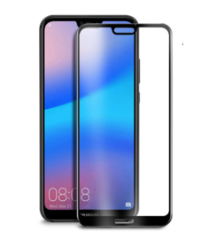 Huawei P20 Lite Full Cover Full Glue Tempered Glass Protector