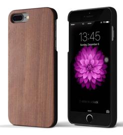 Iphone 7 Plus / 8 Plus Echt Houten Hoesje - Wood Case - 3 Houtsoorten