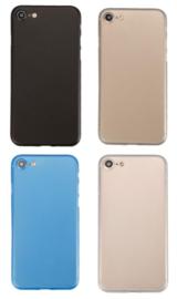 iPhone 7 / 8 / SE 2020 Soft Plastic Matte Kleuren Hoesje