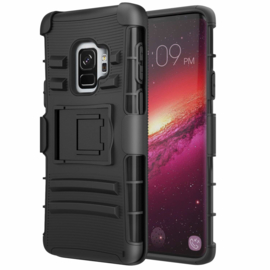 Galaxy S9 Heavy Duty Tough Armor Hoesje 3 in 1