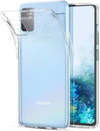 Galaxy S20 Premium Transparant Soft TPU Hoesje