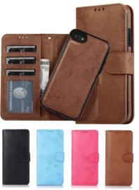 iPhone 7 Plus / 8 Plus Uitneembaar Magnetisch Bookcase Hoesje