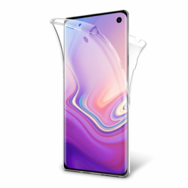 Galaxy S10 360° Full Cover Transparant TPU Hoesje