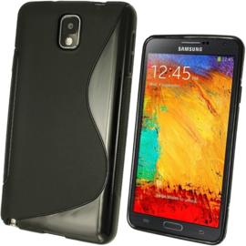 Galaxy Note 3 S-Line TPU Hoesje Transparant / Kleur