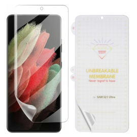 Galaxy S21 Ultra Premium 3D Curved Full Cover Folie Screen Protector