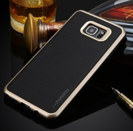 Galaxy S6 Edge Motomo 3 in 1 Hybrid Case Hoesje