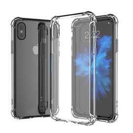 iPhone Xs Max Transparant Soft TPU Air Cushion Hoesje