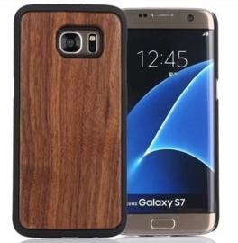 Galaxy S7 Echt Houten Hoesje - Wood Case - 6 Houtsoorten