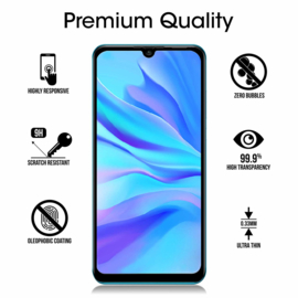 Huawei P30 Lite Full Cover Full Glue Tempered Glass Protector