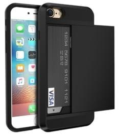 iPhone 7 / 8 Slide Armor Hoesje Met Pashouder