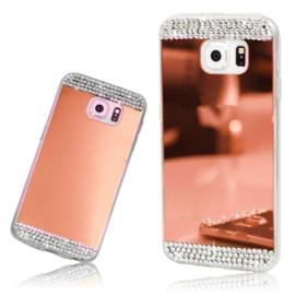 Galaxy S9 Plus Bling Spiegel Hoesje Met Strass-Steentjes