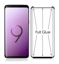 Galaxy S9 Full Glue Case Friendly 3D Tempered Glass Protector