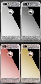 Iphone 7 Plus / 8 Plus Bling Spiegel Hoesje Met Strass-Steentjes