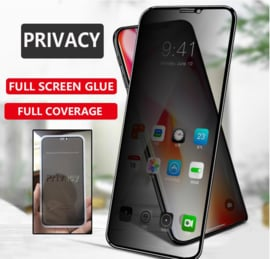 iPhone 11 Full Cover Privacy Tempered Glass Screen Protector