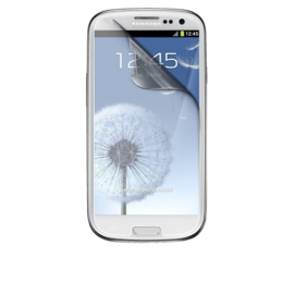 Galaxy S3 Transparant Folie Screen Protector 2 stuks