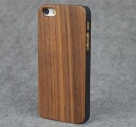 Iphone 5C Echt Houten Hoesje - Wood Case - 4 Houtsoorten