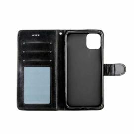 iPhone 11 Leren Portemonnee Hoesje Met Pasfotovakje