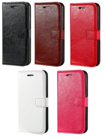 Iphone 7 Plus / 8 Plus Leren Portemonnee Hoesje