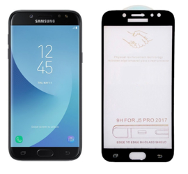 Galaxy J5 (2017) Full Cover Full Glue Tempered Glass Protector