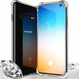 Galaxy S10 Transparant Soft TPU Air Cushion Hoesje
