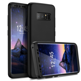 Galaxy Note 8 360° Full Cover Hoesje incl. Folie Screenprotector